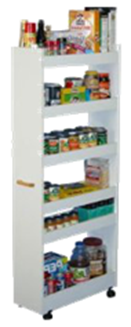 A working and organized pantry