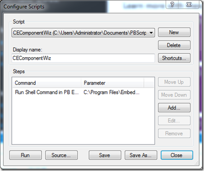 Windows Embedded Compact 2013 : creating a custom component
