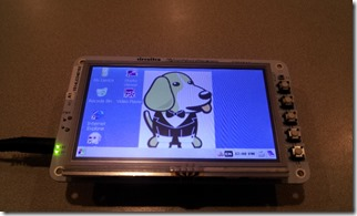 BeagleBone Black with LCD4