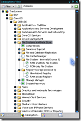 File system & data storage components
