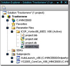 Project registry
